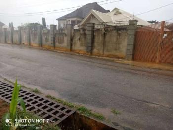 Three Bedroom Bungalow with Two Flat Bq, Airport Road, Oba Ile, Akure, Ondo, Detached Bungalow for Sale