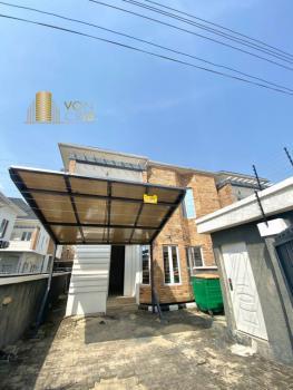 Tastefully Finished Contemporary 4 Bedroom Semi-detach Duplex with Bq, Chevron, Lekki, Lagos, Semi-detached Duplex for Sale