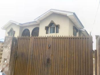 Standard Solid Block of 4 Flats 3 Bedrooms, By Adexion Bus-stop, Akesan, Alimosho, Lagos, Block of Flats for Sale