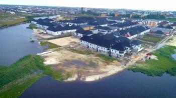 Waterfront Land in a Developed Estate, Chevron Alternative Route, Lekki Phase 2, Lekki, Lagos, Residential Land for Sale