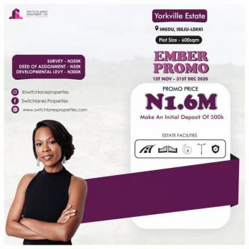 Yorkville Estate Is Offering Something Great, Close to La Campaign Tropicana Beach Resort, Ibeju Lekki, Lagos, Residential Land for Sale