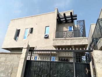 Carcass 4 Bedrooms Semi-detached House, Ilaje, Ajah, Lagos, Semi-detached Duplex for Sale