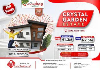 Land, Crystal Garden Estate, Imedu, Okun Imedu, Ibeju Lekki, Lagos, Residential Land for Sale