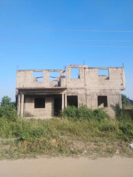 Uncompleted 6 Units of 2 Bedrooms Flat with Genuine Document, Awobo Estate, Igbogbo Garage, Ikorodu, Lagos, Block of Flats for Sale