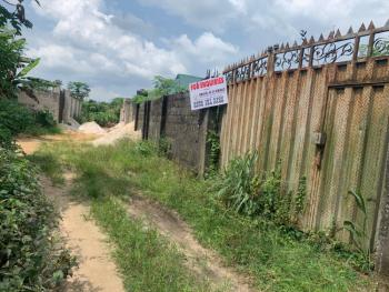 a Fenced 1 Plot of Land, Off P/h Intl Airport Road, By School Road Igwuruta-ali New Layout, Port Harcourt, Rivers, Residential Land for Sale