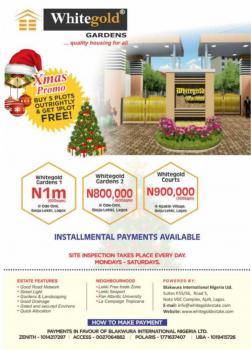Affordable Serviced Plots of Land, Whitegold Estates, Apakin Ode Omi, Ibeju Lekki, Lagos, Mixed-use Land for Sale