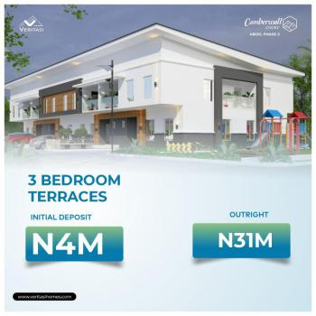 Lovely 3 Bedrooms Terrace with Bq, Camberwall Courts 2, 4 Minutes From Novare Shoprite, Abijo, Lekki, Lagos, Terraced Duplex for Sale