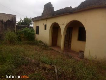 Decked 3bedroom Flat with 2 Shops,fenced Gate with Water,in a Secured, Meiran Via Abule Egba Or Ajasa Command, Meiran, Agege, Lagos, Semi-detached Duplex for Sale
