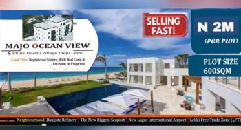 Ocean View Land Free From Government Or Omonile Acquisition, Few Minutes After La Campagne Tropicana Resort Free Trade Zone, Ibeju Lekki, Lagos, Residential Land for Sale