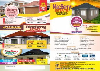 Estate Plot, Ogwashi Ukwu, Aniocha South, Delta, Residential Land for Sale