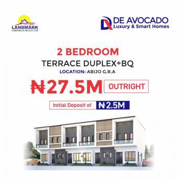 Smart 2 Bedroom Terrace Duplex, De Avocado Smart Homes, Gra, Abijo, Lekki, Lagos, Terraced Duplex for Sale
