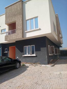 4 Bedroom Semi-detached Dulpex with a Bq, Idu Industrial, Abuja, Semi-detached Duplex for Sale