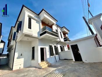 Luxurious 4 Bedrooms +1room Bq Semi Detached Duplex, Chevron, Lekki Phase 2, Lekki, Lagos, Semi-detached Duplex for Sale