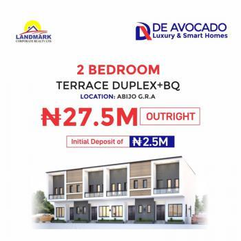 2 Bedroom Terrace Duplex + Bq, Abijo Gra, Abijo, Lekki, Lagos, Terraced Duplex for Sale