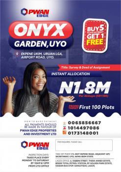 Survey and Deed of Assignment, Onyx Gardens Uyo, Ekpene Ukim, Akwa Ibom, Mixed-use Land for Sale