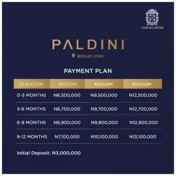 Prestigeous Land, Bogije, Ibeju Lekki, Lagos, Residential Land for Sale