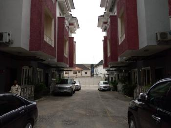 a Neatly Built Fully Serviced 4 Bedrooms Terrace with a Bq, Osapa, Lekki, Lagos, House for Rent