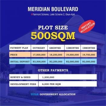 Luxury Land, Meridium Boulevard, Meridium Bolevard, Okun Ajah, Okun-ajah, Ajah, Lagos, Residential Land for Sale