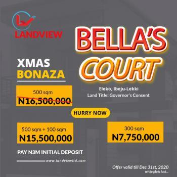 Prestigious Residential Estate Land, Bellas Court Estate, Eleko, Ibeju Lekki, Lagos, Residential Land for Rent
