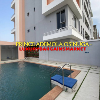 Very Cheap Newly Built 3 Bedroom Apartment + Swimming Pool + Bq Etc, Ikoyi, Lagos, Flat for Sale