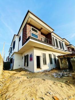 Newly Built and Serviced of 4 Bedroom Semi-detached Duplex with a Bq, Orchid Hotel Road, Lafiaji, Lekki, Lagos, Semi-detached Duplex for Sale