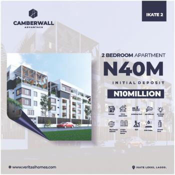 Two Bedroom Luxury Apartment in Premium Location, Camberwall Advantage, Ikate, Lekki, Lagos, Flat for Sale