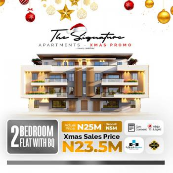 Luxury 2 Bedroom Apartment with Bq, Abijo, Lekki, Lagos, Flat for Sale