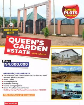 Land with C of O, Queens Garden Estate, Kuje, Abuja, Mixed-use Land for Sale