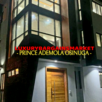 Fully Detached & Serviced Newly Built 4 Bedroom House+ Bq+pool+gym, Ikoyi, Lagos, Detached Duplex for Rent