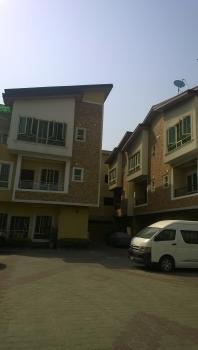 4 Bedroom Terraced with Bq, Updc Estate, Lekki Phase 1, Lekki, Lagos, Terraced Duplex for Sale