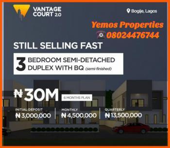 Vantage Court, Richmall Estate, Bogije, Ibeju Lekki, Lagos, Semi-detached Duplex for Sale
