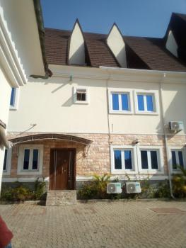 Brand New Fantastic 4 Bedrooms 2 Living Rooms and Bq in Estate, Jabi, Abuja, Semi-detached Duplex for Rent