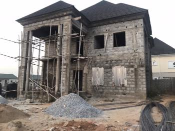 Carcass 4 Bedrooms Fully Detached Duplex with 2 Rooms Boys, By Galadimawa Roundabout, Kaura, Abuja, Detached Duplex for Sale