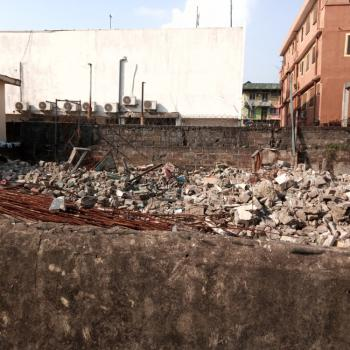 a Dry Land on 270sqm Fenced, Alh Nuru Street Off Cole Street, Lawanson, Surulere, Lagos, Mixed-use Land for Sale
