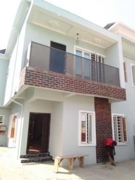 Newly Built Four Bedroom Semi-detached with Bq, No1 Tourism Road Off Alpha Beach, Igbo Efon, Lekki, Lagos, Semi-detached Duplex for Sale