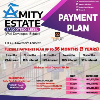 Land, Amity Estate, Sangotedo, Ajah, Lagos, Land for Sale