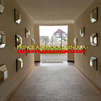 Prince Ademola Osinuga Ultra Luxury 3 Bedroom Apartment +pool +gym, Banana Island, Ikoyi, Lagos, Flat for Rent
