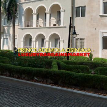 Prince Ademola Osinuga Ultra Luxury 2 Bedroom Apartment +pool+gym!, Banana Island, Ikoyi, Lagos, Flat / Apartment for Rent