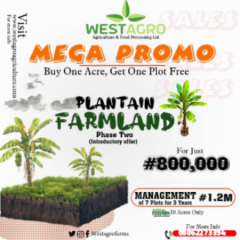 Own a Secured Farm Land Today, Remo North, Ogun, Commercial Land for Sale