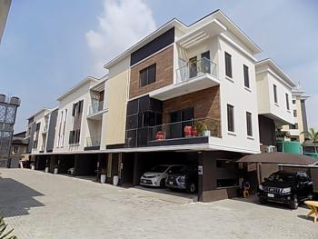 Luxury 4 Bedroom Terraced Duplex with Bq, 24hrs Power, Swimming Pool, Lekki Phase 1, Lekki, Lagos, Terraced Duplex for Sale