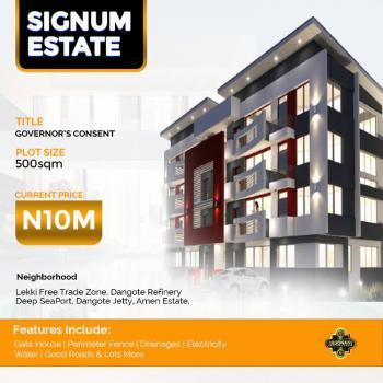 Prime Estate Land in Very Premium Location, Before Eleko Junction, Off Lekki Epe Expressway, Eleko, Ibeju Lekki, Lagos, Residential Land for Sale
