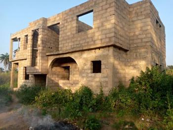 4 Bedroom Duplex on 2 Plots of Land, Onikankan Area Off Ijaye Moniya Road, Moniya, Ibadan, Oyo, Detached Duplex for Sale