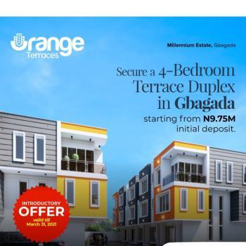 Tastefully Finished 4 Bedroom Terrace Duplex, Millennium Estate, Gbagada Phase 1, Gbagada, Lagos, Terraced Duplex for Sale