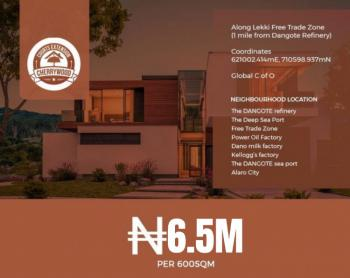 Prime Estate Plot of Land in Good Location, Cherrywood Extension, Lekki Free Trade Zone, Lekki, Lagos, Residential Land for Sale