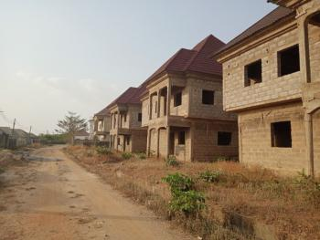 Solidly Finished Roofed Carcass, Peculiar Estate, Behind Urban Shelter Estate, Lokogoma District, Abuja, Detached Duplex for Sale