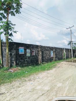 Fenced Corner Piece 100x100 Land, Osubi/ugolo Expressway, Okpe, Delta, Commercial Land for Sale