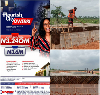 Flourish City Estate. Dry Land. Buy and Get Instant Allocation, Along Onitsha Expressway, Owerri Municipal, Imo, Residential Land for Sale