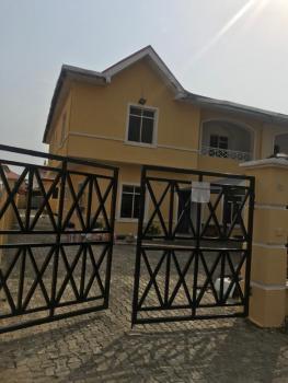 4 Bedroom Duplex with 5 Rooms Bq, Crown Estate, Sangotedo, Ajah, Lagos, Semi-detached Duplex for Rent