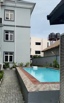 a Block of 9 Unit Apartment with 6 Rooms Bq and a Pool, U3 Estate, Lekki Phase 1, Lekki, Lagos, Block of Flats for Sale