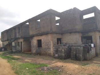 Distressed 4nos Block of 3 Bedroom Flat Each Strategically Located, Selewu Area, Igbogbo, Ikorodu, Lagos, Block of Flats for Sale